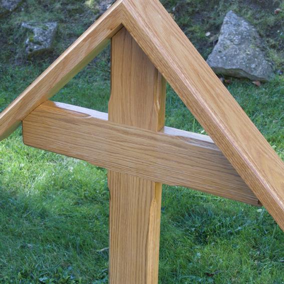Urnenkreuz 84cm x 40cm